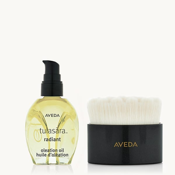aveda oleation and dry brush